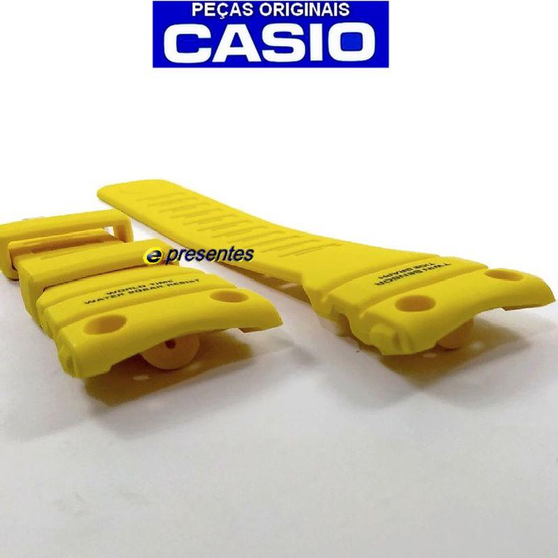 Pulseira GN-1000-9a Casio G-shock Resina Amarela *  - E-Presentes