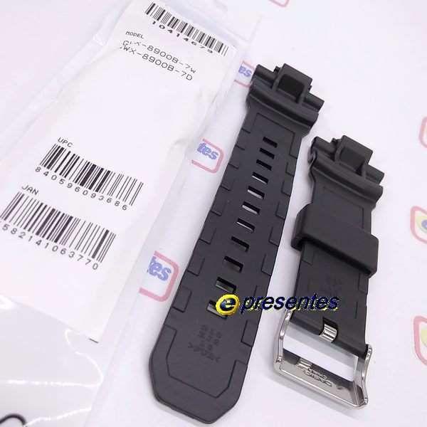 Pulseira GWX-8900B Casio G-shock G-lide Preto Brilhante Verniz  - E-Presentes