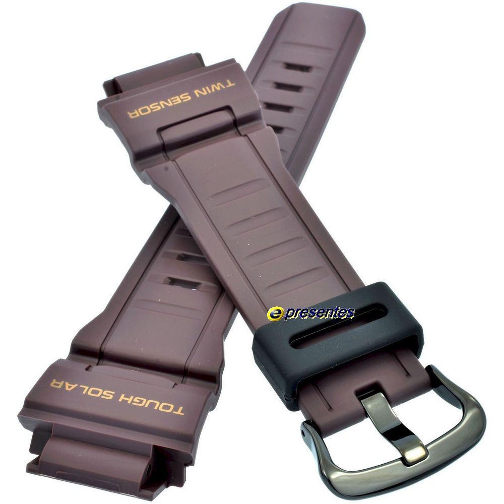 Pulseira Casio G-shock Mudman G-9300ER-5 Resina Marrom  - E-Presentes