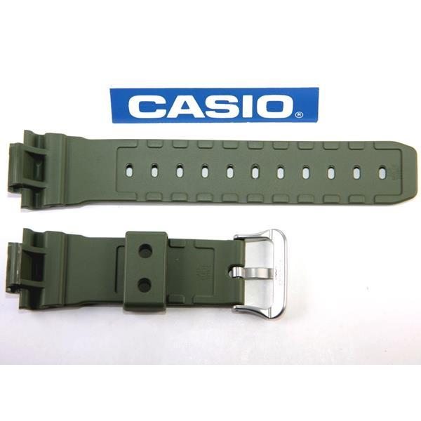 Pulseira Original Casio G-shock DW-5600m-3 Verde Militar  - E-Presentes