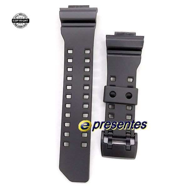 Pulseira Casio G-shock GA-400-1  GA-400GB Resina Preto *  - E-Presentes