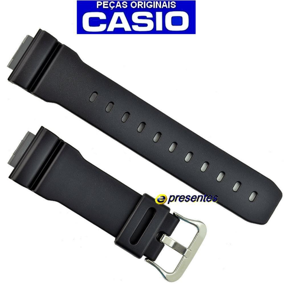 Pulseira Preta Aw-560d, AW-560e, DW-5600SN, DW-6900SN,  DW-6900BBA-1 Casio G-shock  - E-Presentes
