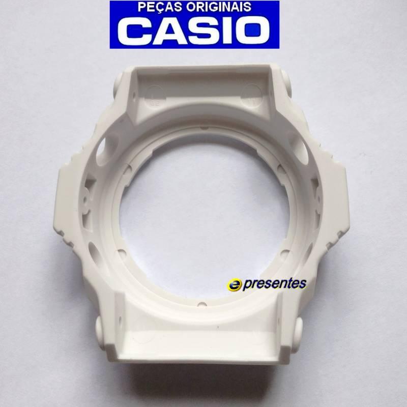 Pulseira Preto Fosco + Bezel Branco fosco GA-300 CASIO G-SHOCK  - E-Presentes