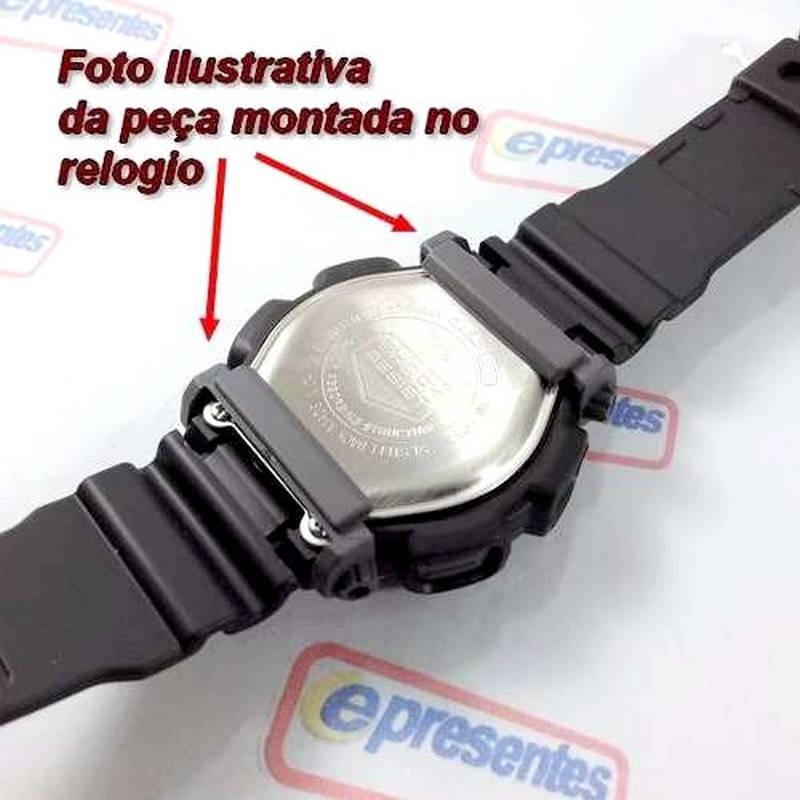 Pulseira + Protetor Case Back Casio Dw-9051 Dw-9052 - Peças 100% Originais  - E-Presentes