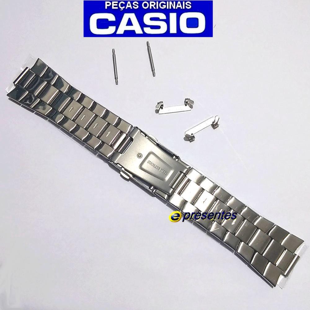 Pulseira Relógio Casio EF-329SG-7AV Edifice Aço Inox Pateado e dourado  - E-Presentes