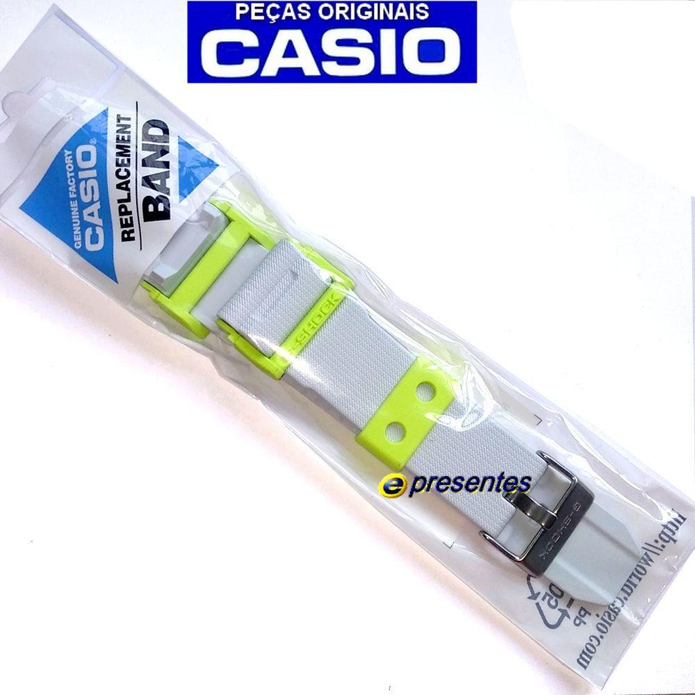 Pulseira Relógio GD-400dn-8 Branco Casio G-Shock - Peça 100% Original  - E-Presentes