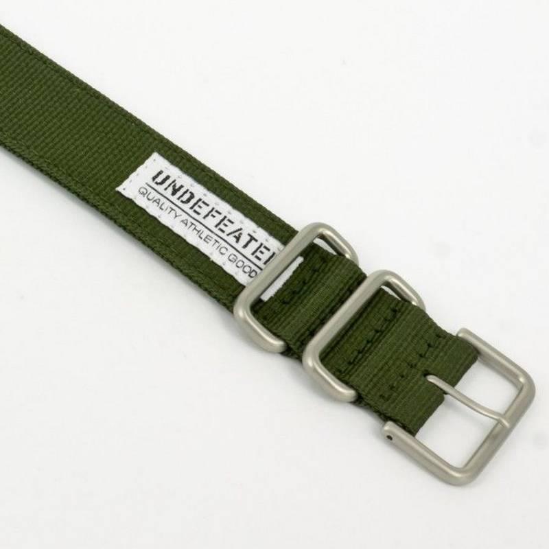 Pulseira Verde DW-6901ud-3 Casio G-Shock de Tecido/Nylon   - E-Presentes