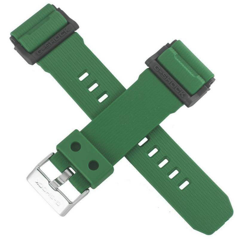 Pulseira Verde Folha GD-400-3 Casio G-Shock - Peça 100% Original  - E-Presentes