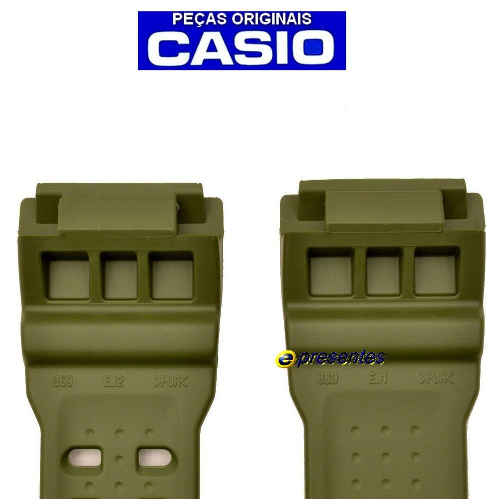 Pulseira Verde GG-1000-1A3 Casio G-Shock - Peça 100% Genuína*  - E-Presentes