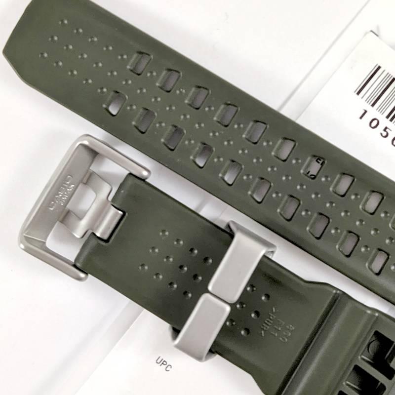 Pulseira Verde Original Casio G-Shock GWG-1000-1A3 Mudmaster *  - E-Presentes