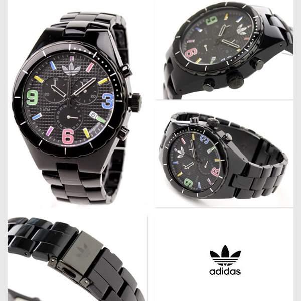 Relogio Adidas Black Cambridge ADH2519Z - 2anos De Garantia!  - E-Presentes