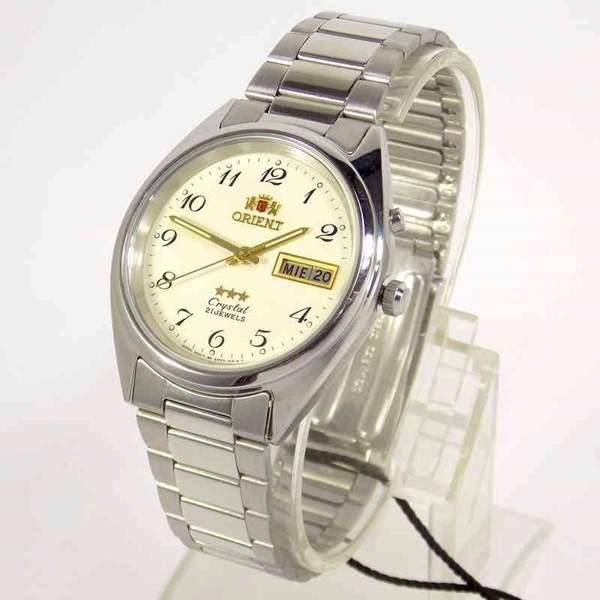 171d03fefdf Relógio Automático Orient Fem0401VC9 Original 37mm 3estrelas 21 Jewels -  E-Presentes