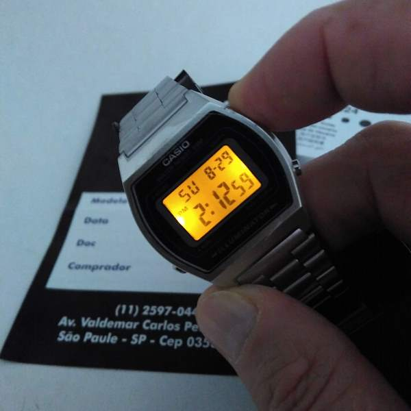 Relógio Casio B640wd Retrô Prova D
