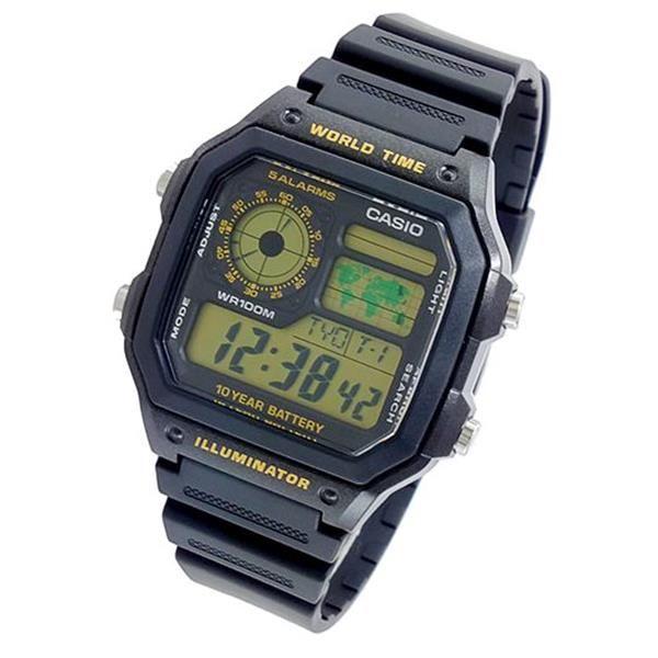 Relógio Casio Digital AE-1200WH-1BV   - Alexandre Venturini