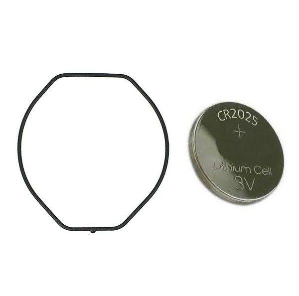 Anel de Vedação + Bateria para Relogio Casio G-9100 Gulfman  - E-Presentes