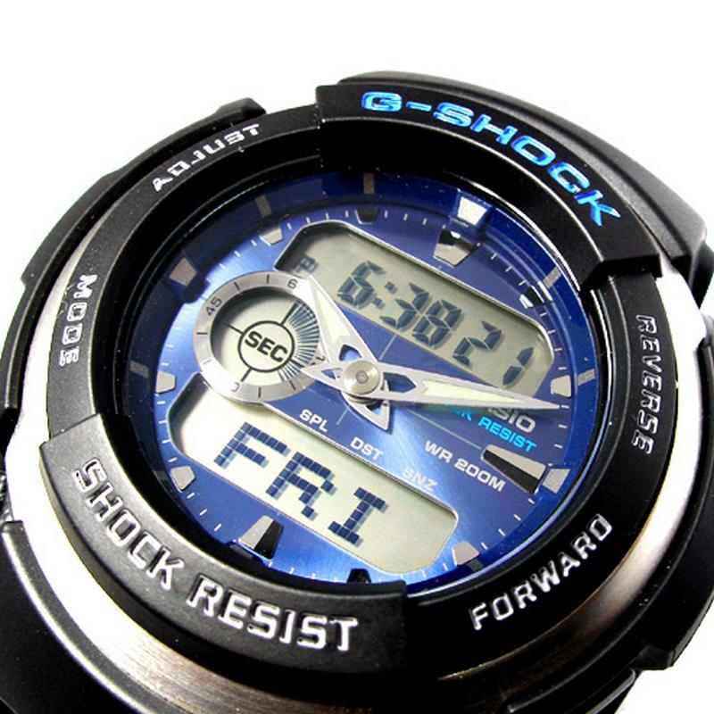 Relogio Casio G-Shock G-300-2AV WR200m Crono Temporizador  - E-Presentes