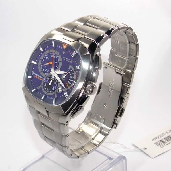 Relógio Citizen Cronógrafo Azul An9000 53m 100% Original  - E-Presentes