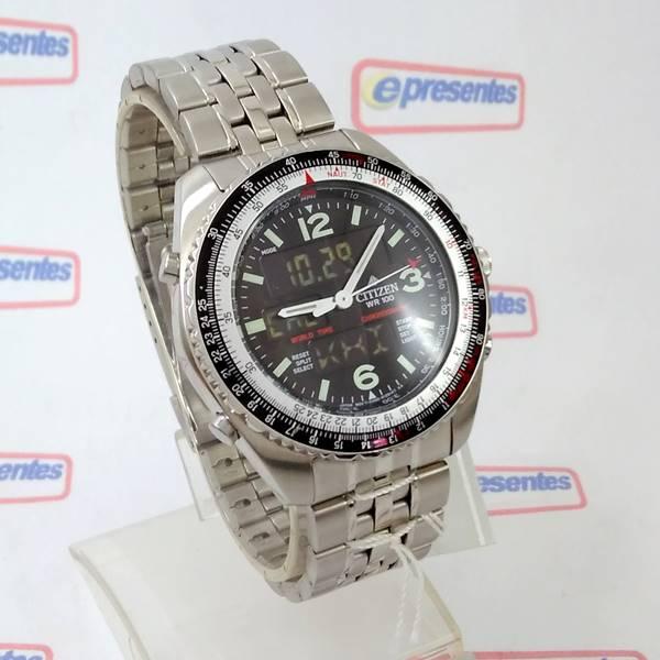 Relógio Citizen Wingman Promaster Cronógrafo JQ8001-57E - TZ10075T  - Alexandre Venturini