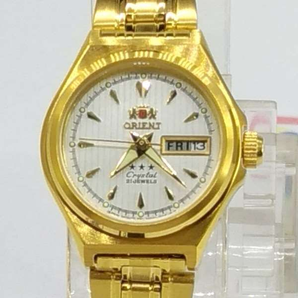 Relógio de Pulso Feminino Orient Automatico Dourado FNQ1S002W9  - Alexandre Venturini