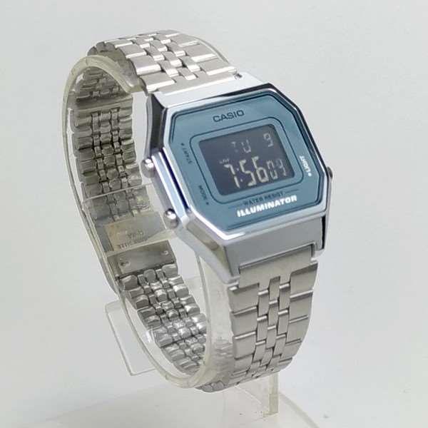 Relógio Feminino Casio Digital Prateado Vintage LA680WA-2  - Alexandre Venturini