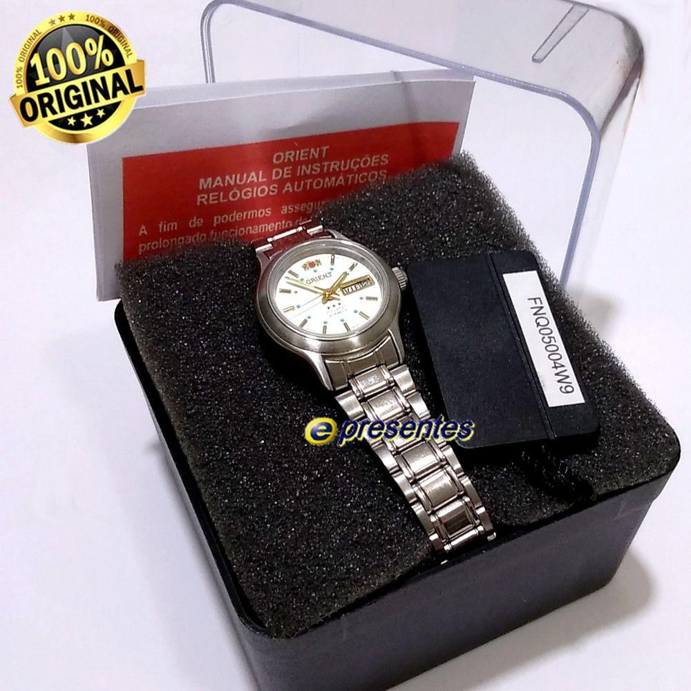 Relógio Feminino Orient Automatico Fnq05004w9 (25mm largura)  - E-Presentes