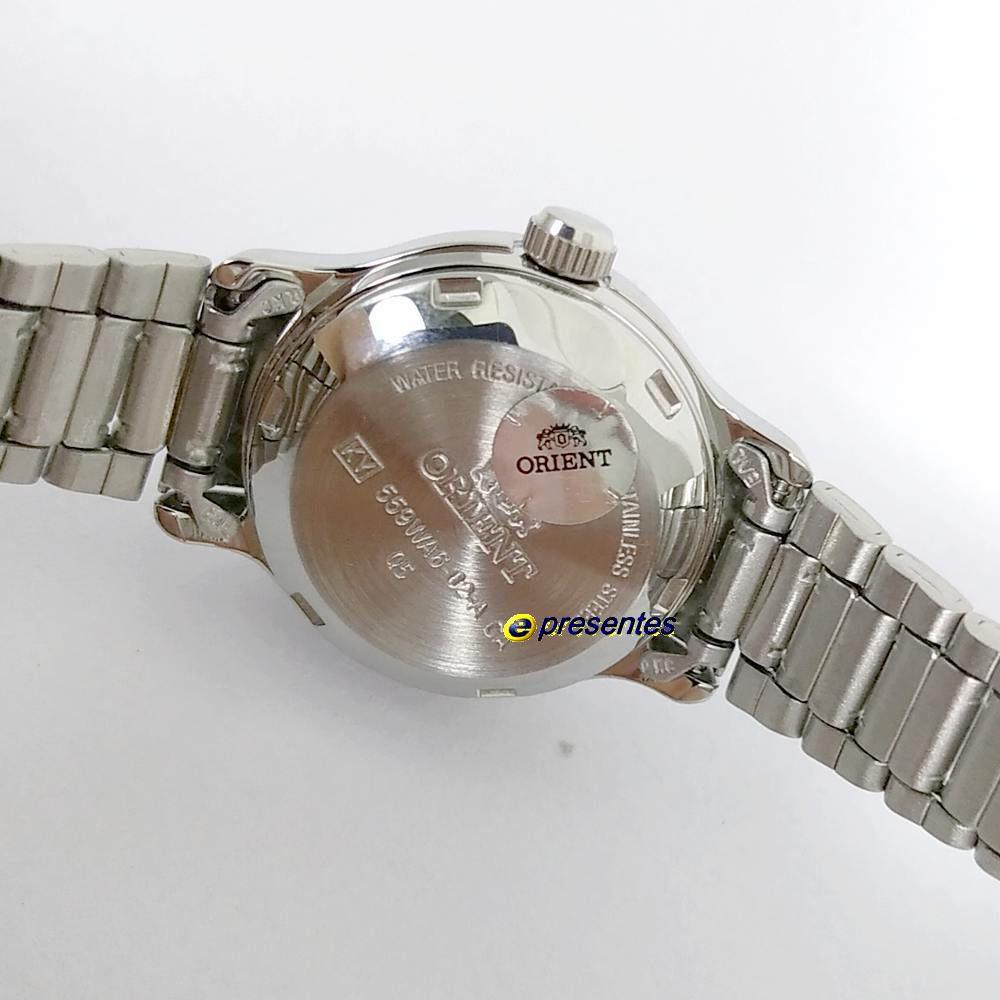 Relógio Feminino Orient Automatico Fnq05006w9 (25mm largura)  - E-Presentes