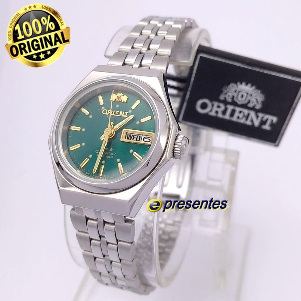 b1bc69085d4a8 Relógio Feminino Orient Automatico Mini 25mm FNQ09005E9 - E-Presentes