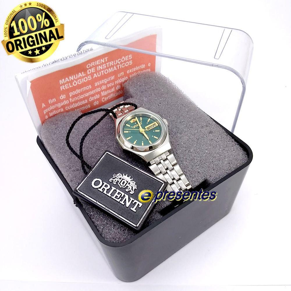 Relógio Feminino Orient Automatico Mini 25mm FNQ09005E9  - E-Presentes