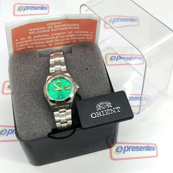 Relógio Feminino Orient Automatico Mini 25mm FNQ1A00AE9  - E-Presentes