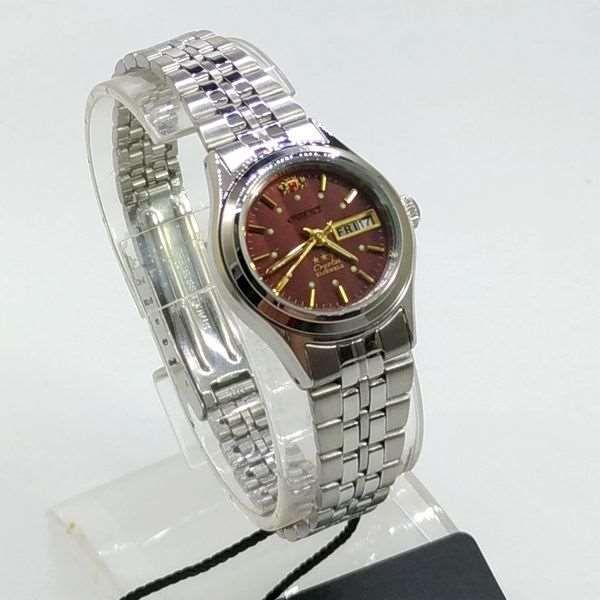 Relógio Feminino Orient Automatico Mini Prateado FNQ04004H9  - E-Presentes