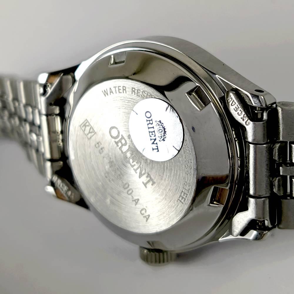 Relógio Feminino Orient Automatico Mini Prateado FNQ04005c9  - E-Presentes