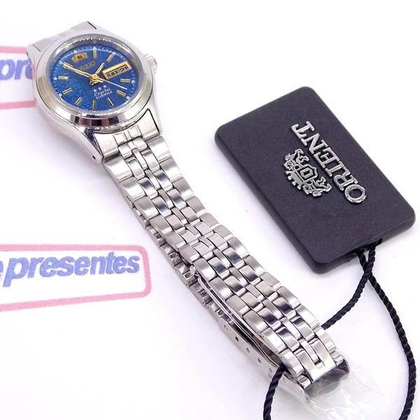 Relógio Feminino Orient Automatico Mini Prateado Fnq04005d9  - Alexandre Venturini