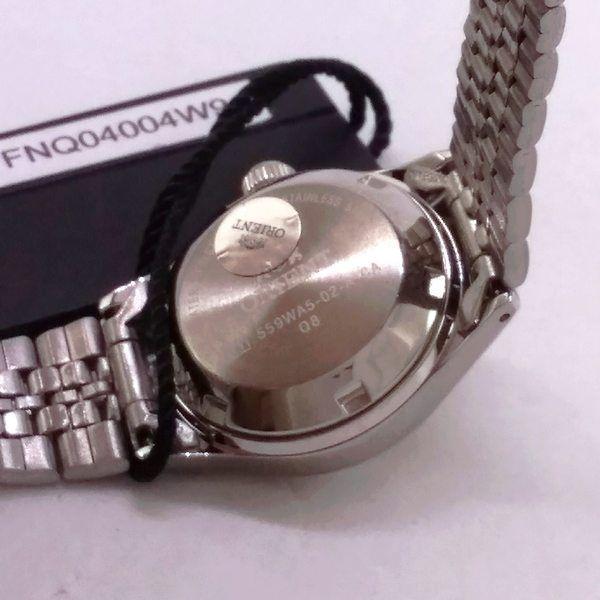 Relógio Feminino Orient Automatico Mini Prateado / VERDE FNQ04004E9  - E-Presentes