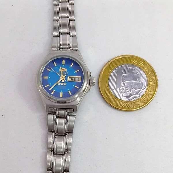 Relógio Feminino Pequeno Orient Automatico 25MM FNQ1S00JL9  - E-Presentes