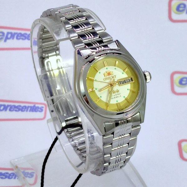Relógio Feminino Pequeno Orient Automatico 25MM FNQ1X001C9  - E-Presentes