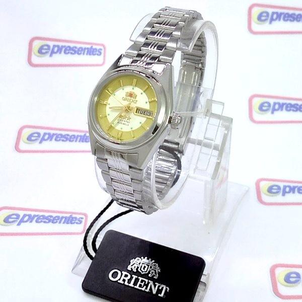 Relógio Feminino Pequeno Orient Automatico 25MM FNQ1X001C9  - Alexandre Venturini
