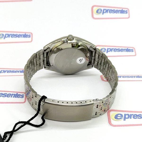 Relogio Masculino Orient Automático 21rubis FAB0000DC9 CHAMPAGNE  - E-Presentes