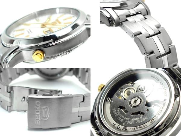 Relógio Masculino Seiko Automatico SNKL77K1 Aço Inox 38MM SEIKO-5  - E-Presentes