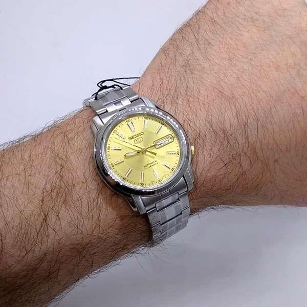 Relógio Masculino Seiko Automatico SNKL81K1 Aço Inox 37MM SEIKO-5  - Alexandre Venturini