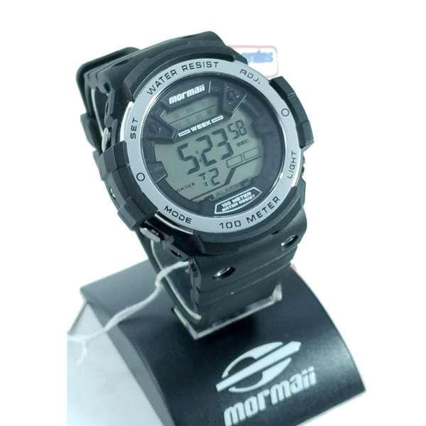 785146f7d Relógio Mormaii Wave Masculino MO3500B/8K - Grande 51mm - E-Presentes