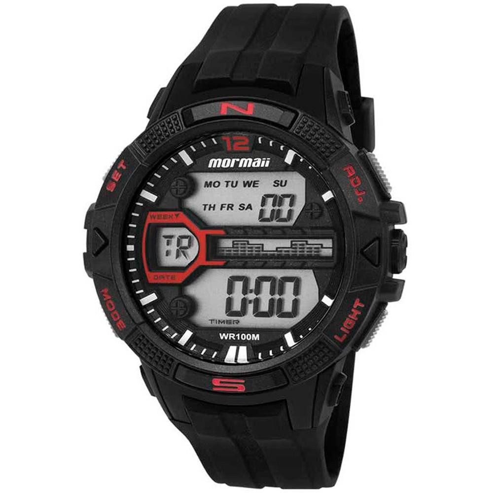 Relógio Mormaii Wave Masculino MO5000B/8P - Grande 50mm  - E-Presentes