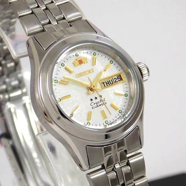 Relógio Orient Automático Feminino Mini Autêntico FNQ04005W9   - E-Presentes
