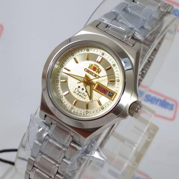 ce1ae163120 Relógio Orient Automatico Feminino Mini Autêntico Fnq18004c9 - E-Presentes  ...