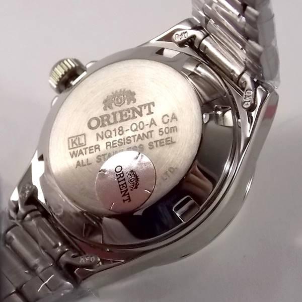 Relógio Orient Automatico Feminino Mini Autêntico Fnq18004c9  - E-Presentes