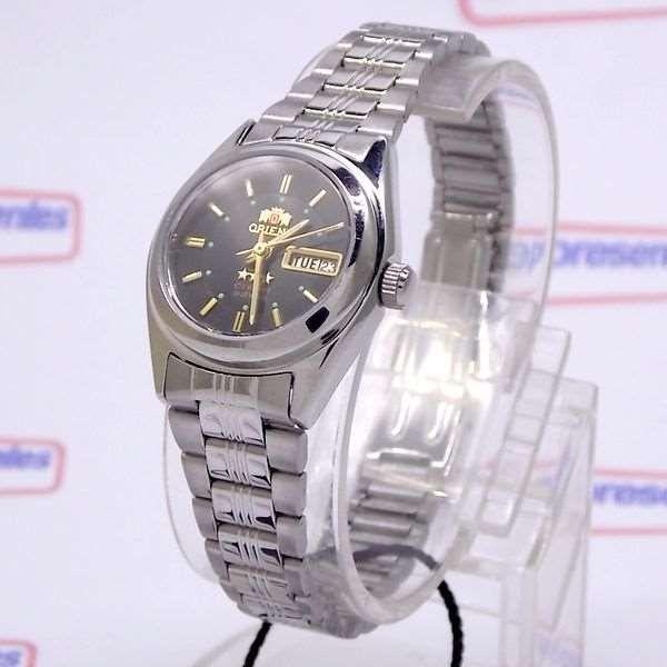 81e3c7d439269 Relógio Orient Automático Feminino Mini Autêntico FNQ1X001B9 - E-Presentes