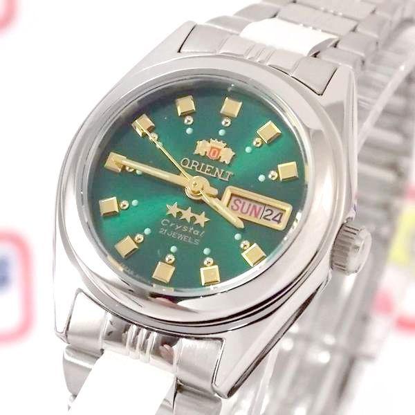 Relógio Orient Automático Feminino Mini Autêntico FNQ1X003F9   - E-Presentes
