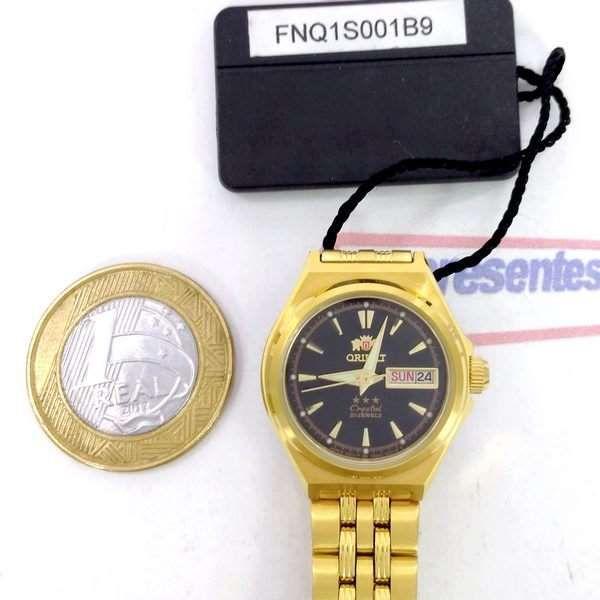 Relógio Orient Automatico Feminino Mini Dourado FNQ1S001B9  - Alexandre Venturini