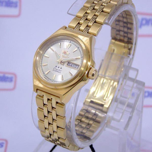 Relógio Orient Automatico Feminino Mini Dourado FNQ1S001C9  - Alexandre Venturini