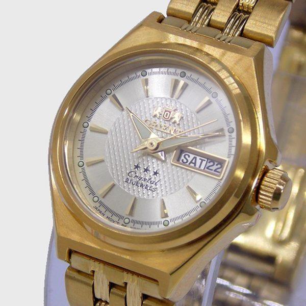 e06760e3194 ... Relógio Orient Automatico Feminino Mini Dourado FNQ1S001C9 - E-Presentes  ...