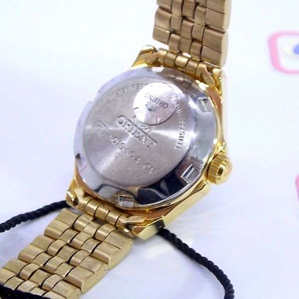 Relógio Orient Automatico Feminino Mini Dourado FNQ1S003W9  - E-Presentes